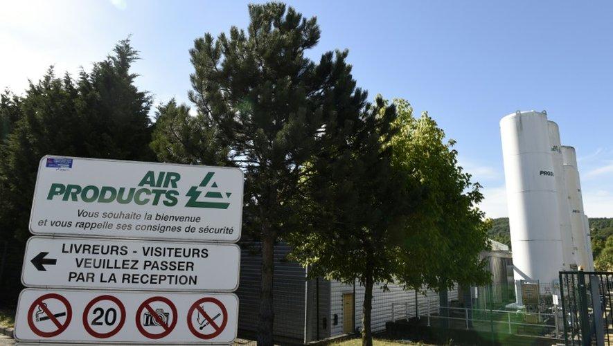 L'usine d'Air Products à Saint-Quentin-Fallavier en Isère, cible d'une attaque le 29 juin 2015