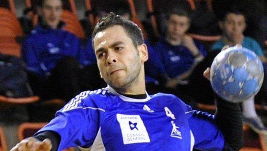 Arrivé en 2009, l'arrière droit du Roc handball s'était imposé comme un cadre et l'un des meilleurs marqueurs du club.