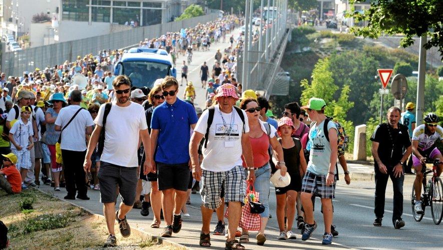 Aujourd'hui, il faut s'attendre à ce que la foule se déplace vers le centre ancien de Rodez pour assister au départ de la 14e étape.