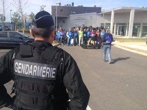 Les surveillants de la prison de Druelle font le blocus