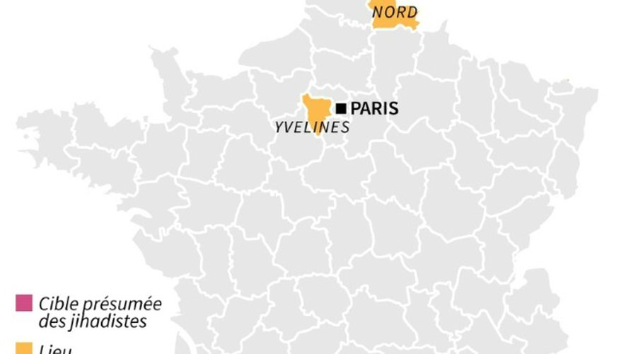 Projet d'attentat jihadiste déjoué