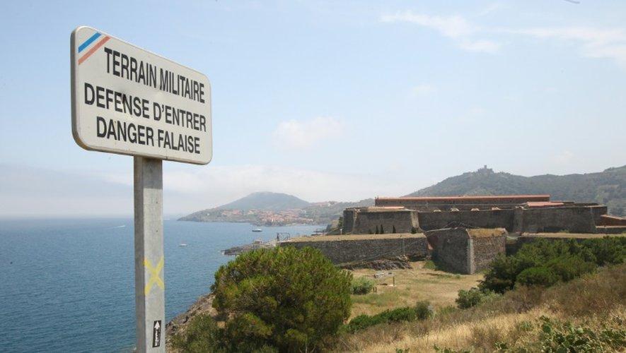 Le centre national d'entraînement commando, près de Collioure (Pyrénées-Orientales), le 16 juillet 2015, cible d'un projet d'attentat