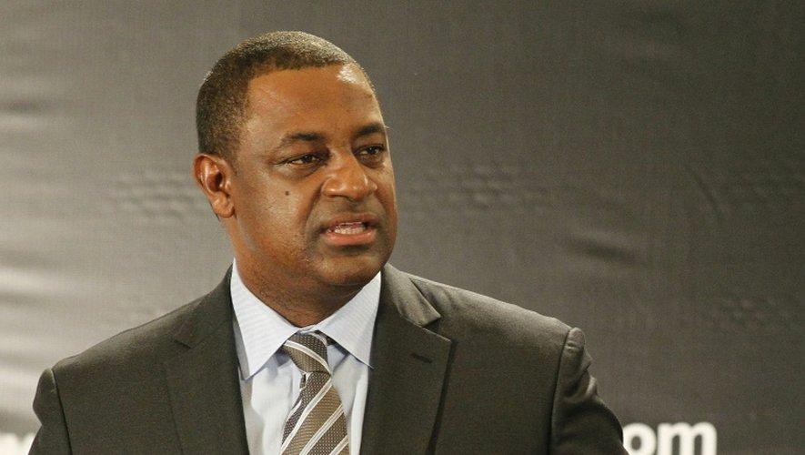 L'ex-vice-président de la Fifa Jeffrey Webb, le 28 mai 2014 à Miami