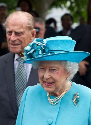 La reine Elizabeth II et le duc d'Edimbourg à Londres, le 16 juillet 2015