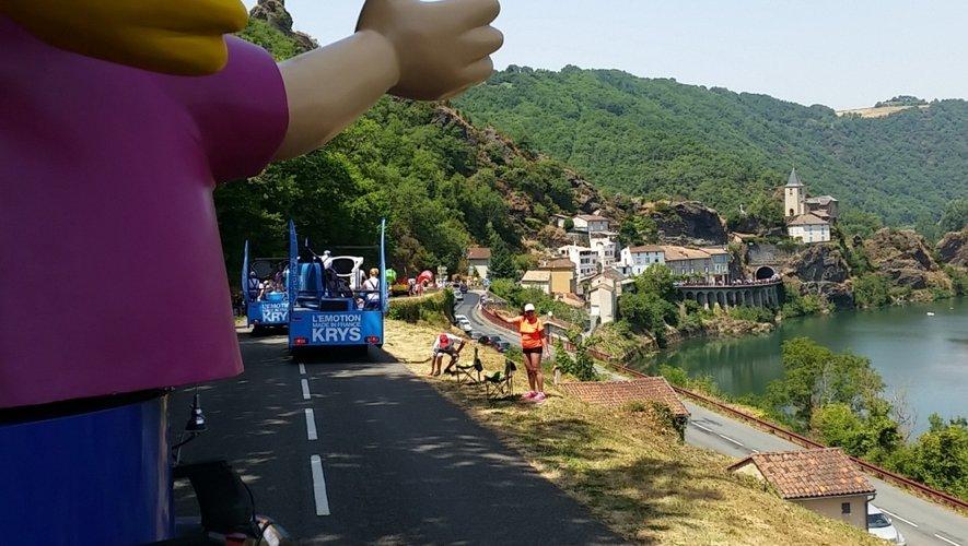 Entre le Tarn et l'Aveyron.