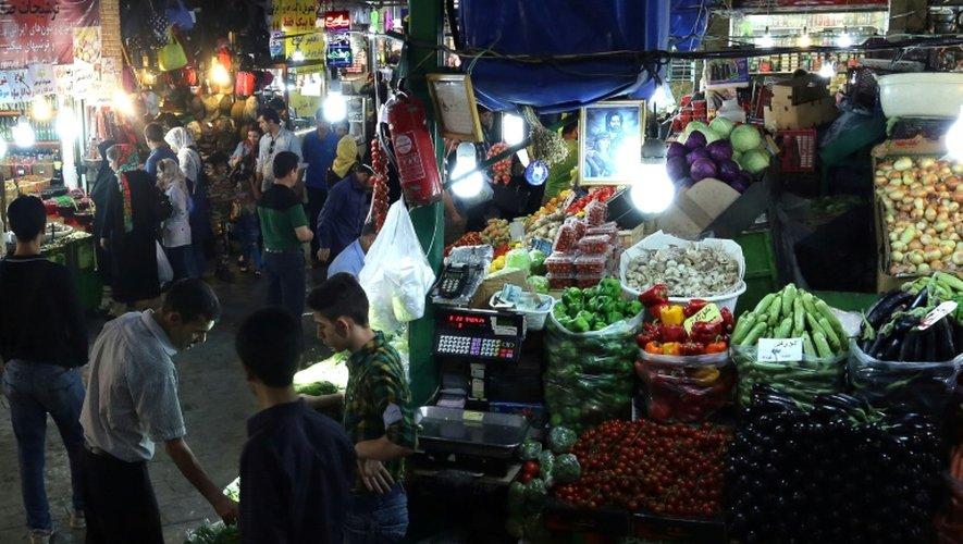Le Bazar de Téhéran, le 16 juillet 2015