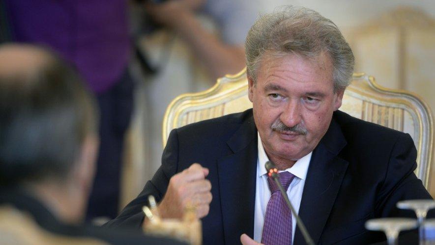 Le ministre des Affaires étrangères luxembourgeois Jean Asselborn, ici à Moscou le 3 juillet 2015, souhaite que les Etats membres de l'UE accueillent davantage de migrants