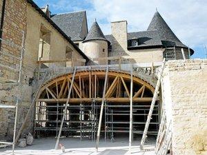 Le château de Bournazel montre ce week-end ses plus beaux trésors