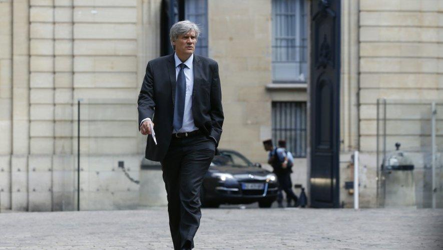Le ministre de l'Agriculture Stéphane Le Foll, le 21 juillet 2015 à Paris