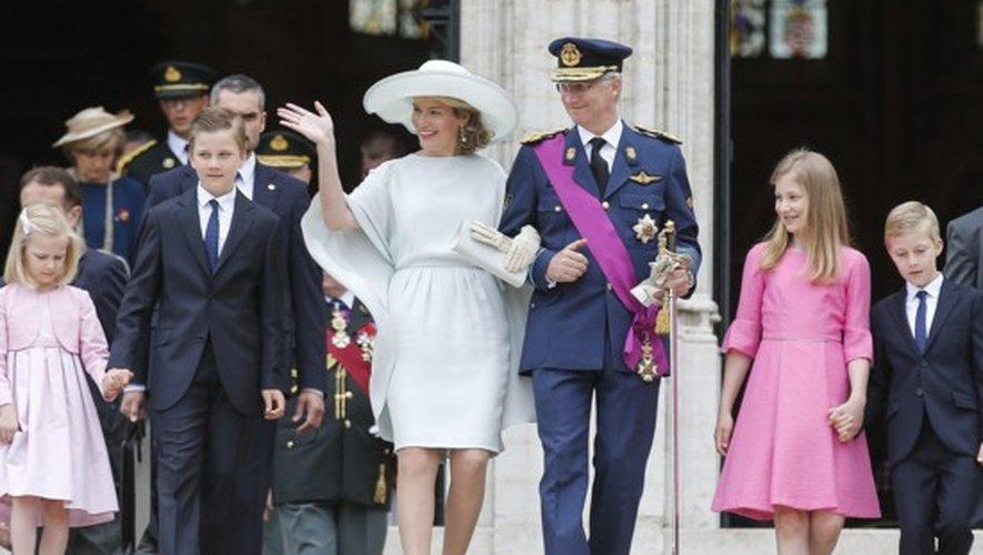 Belgique : La fête nationale de la famille royale