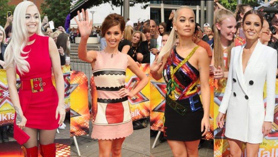 Mode X Factor : Rita Ora et Cheryl Cole juges et modèles
