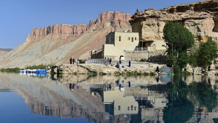 Vue du lac de Band-i-Amir, dans la province de Bamiyan, en Afghanistan, le 19 juin 2015