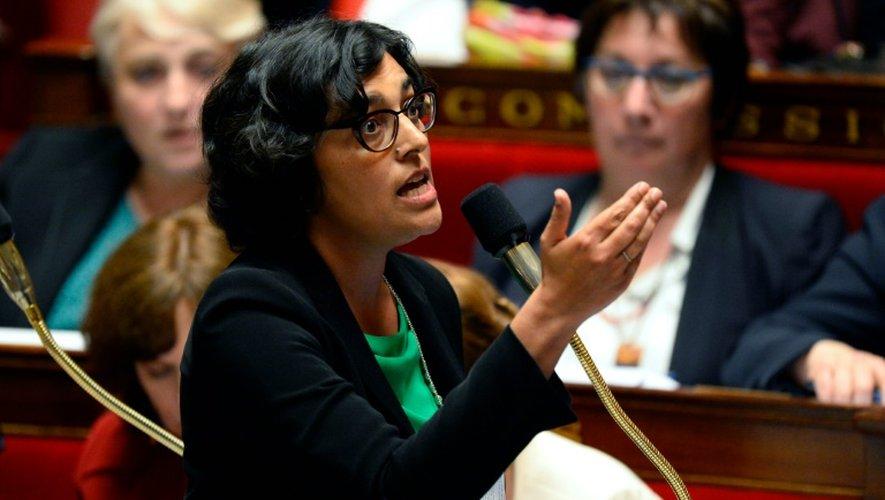 La ministre du Travail Myriam El Khomri  le 31 mai 2016 à l'Assemblée nationale à Paris