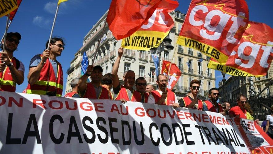 """Nous allons faire la démonstration"""" d'une mobilisation """"comme nous n'en avons jamais connu"""" depuis février, prévient lundi le secrétaire généralde la CGT Philippe Martinez"""