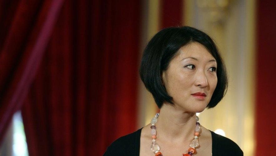La ministre de la Culture Fleur Pellerin, le 5 juin 2015 à Paris