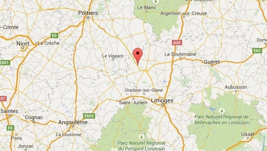 L'accident s'est produit sur la RN147 entre Limoges et Poitiers.