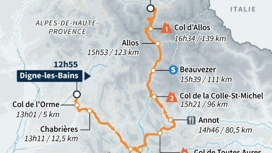 Le parcours de la 17e étape du Tour de France