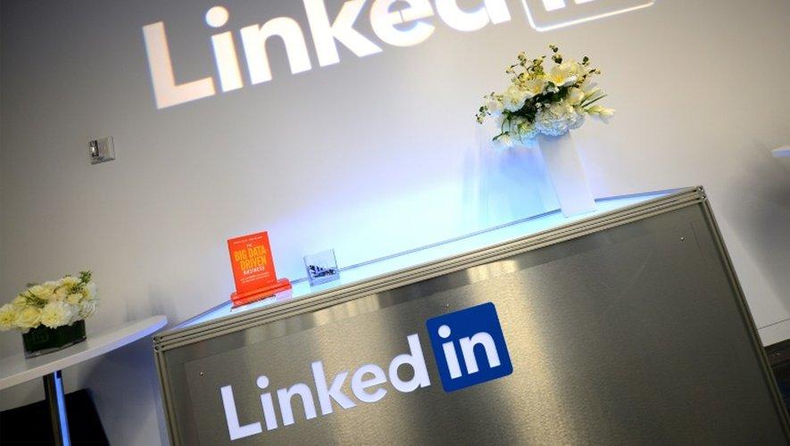 Une vue sur le panel de LinkedIn B2B au cours de la semaine de la publicité 2015 AWXII sur le marché du Nasdaq le 29 septembre 2015 à New York City. Source Getty Images