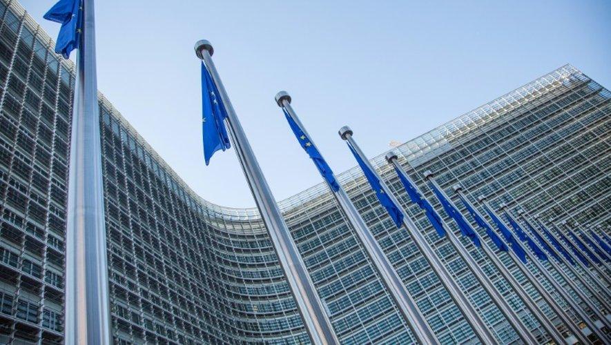 Une vue du siège de la Commission européenne à Bruxelles le 25 mai 2014