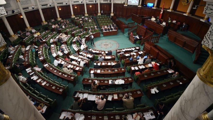 L'assemblée des représentants du peuple à Tunis le 22 juillet 2015