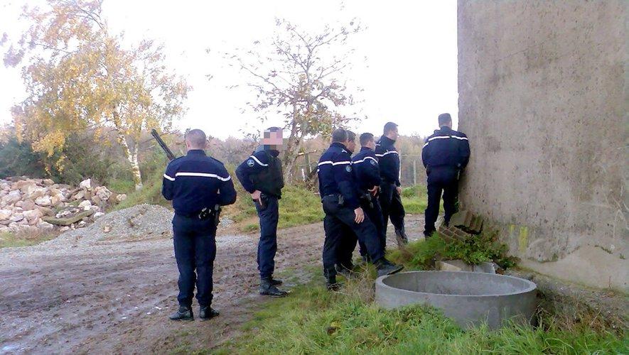 Les gendarmes de Saint-Sernin-sur-Rance et de la brigade de recherches de Millau conduisent l'enquête.
