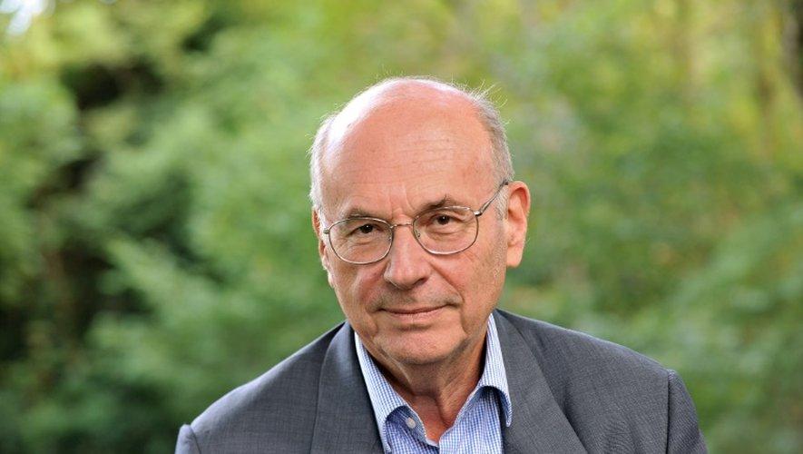 Le neuropsychiatre Boris Cyrulnik à Chanceau-pres-Loches, en Indre-et-Loire, le 28 août 2011