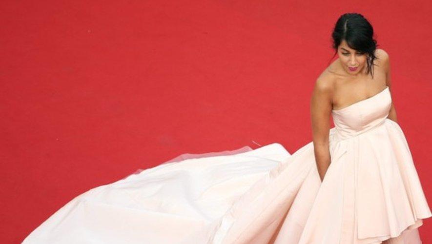 Leila Bekhti au Festival de Cannes 2015