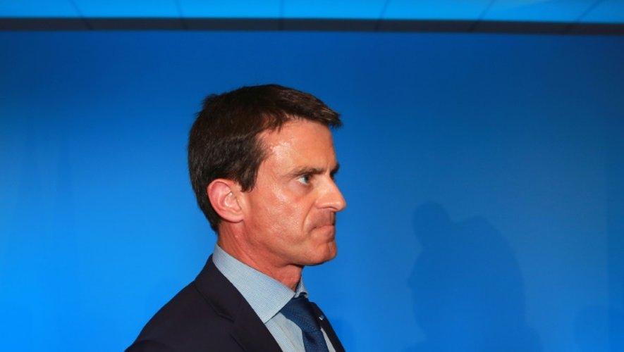 Manuel Valls à Latresnes près de Bordeaux le 23 juillet 2015