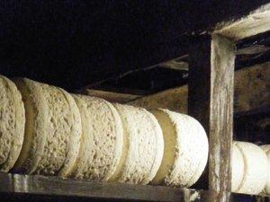 Roquefort - Au cœur de la fraîcheur des caves s'affinent des milliers de fromages