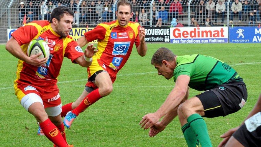 Mathieu Pallarès et les Aveyronnais courent toujours après leur premier succès de la saison.
