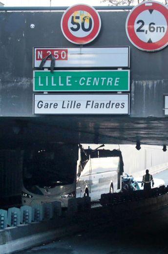 Accident d'un car espagnol le 26 juillet 2015 à La Madeleine dans l'agglomération de Lille