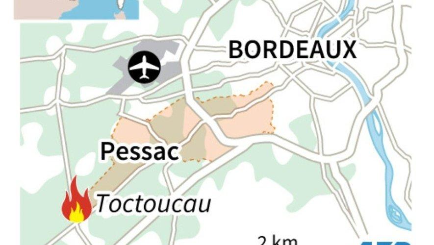 Gironde : 550 hectares brûlés