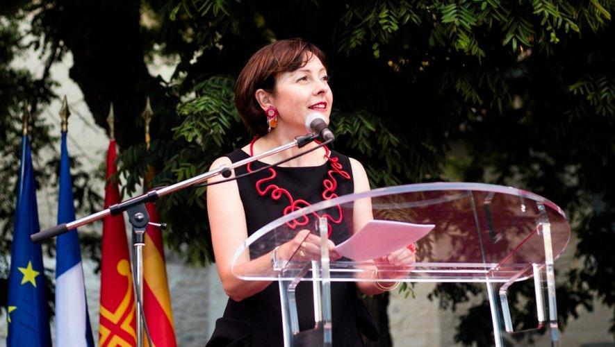 Carole Delga, présidente de la Région.