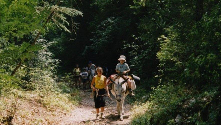 Vallée de la Buège - Une randonnée à dos d'âne !