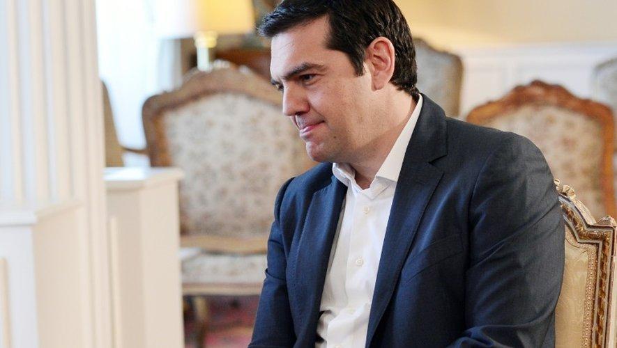 Le premier ministre grec Alexis Tsipras, le 24 juillet 2015 à Athènes
