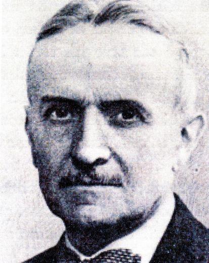 Victor Bousquet, ingénieur des mines.