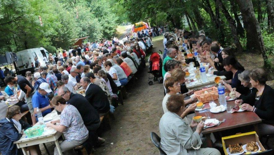 A Camboulazet dimanche, la Fête de la truite à Versailles, un incontournable de l'été aveyronnais.