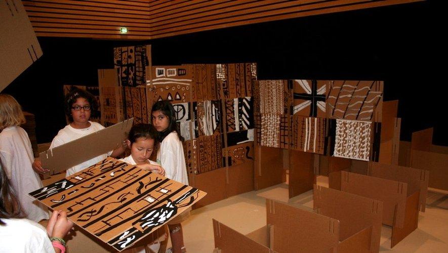 Le mini musée Soulages mesurera 13 mètres de long.