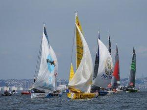 Solitaire du Figaro: la flotte met le cap sur Cowes, pianissimo
