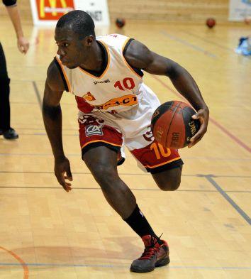 Le joueur ruthénois Abou Doumbia