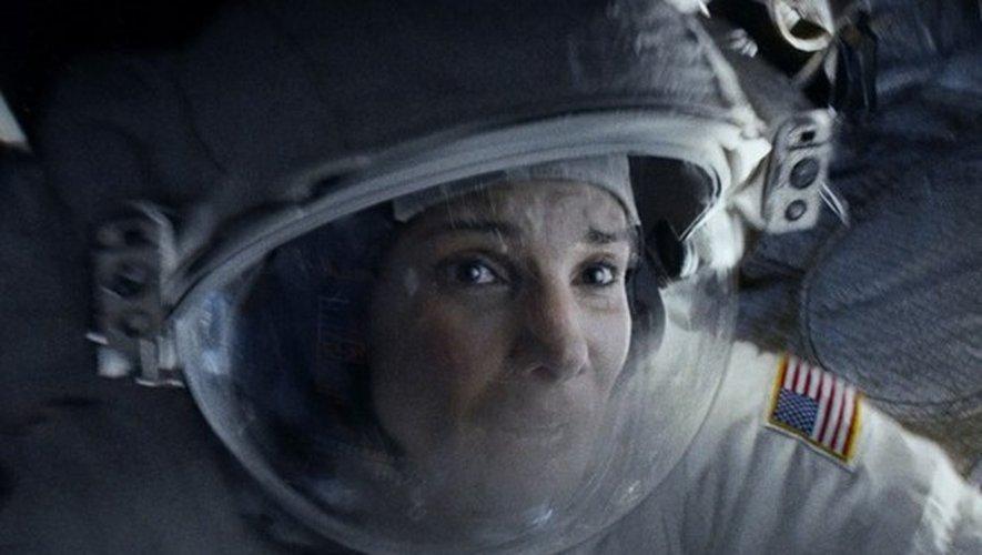 Sandra Bullock dans son rôle du Docteur Ryan Stone dans Gravity