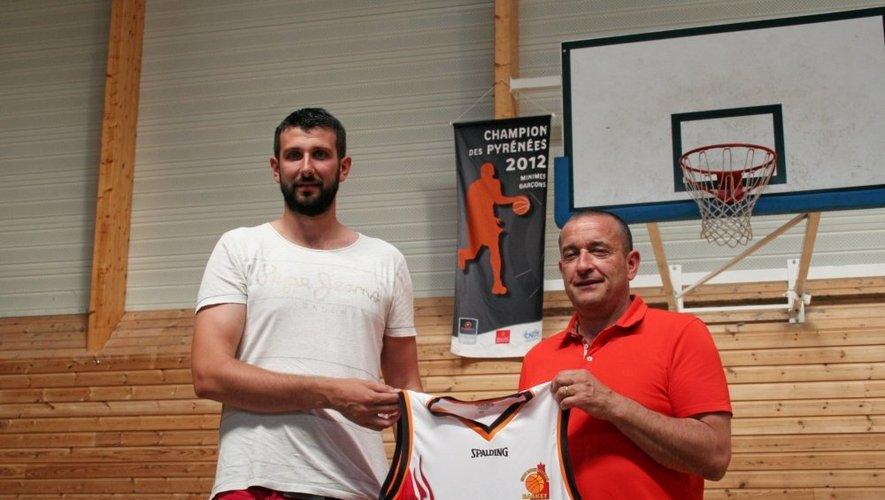 L'ex-Cadurcien Florian Ducard (photo), associé au « baroudeur » Fuad Memcic, laissent augurer une belle présence ruthénoise dans les raquettes de Nationale 3.