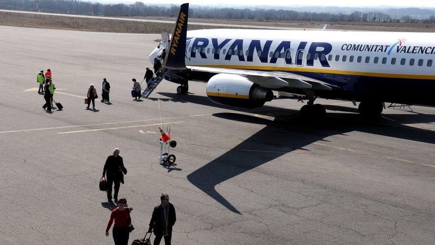 La compagnie irlandaise a souhaité réduire le nombre de ses vols vers la capitale anglaise.