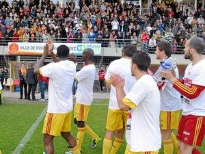 Football / National : Les espoirs ruthénois douchés