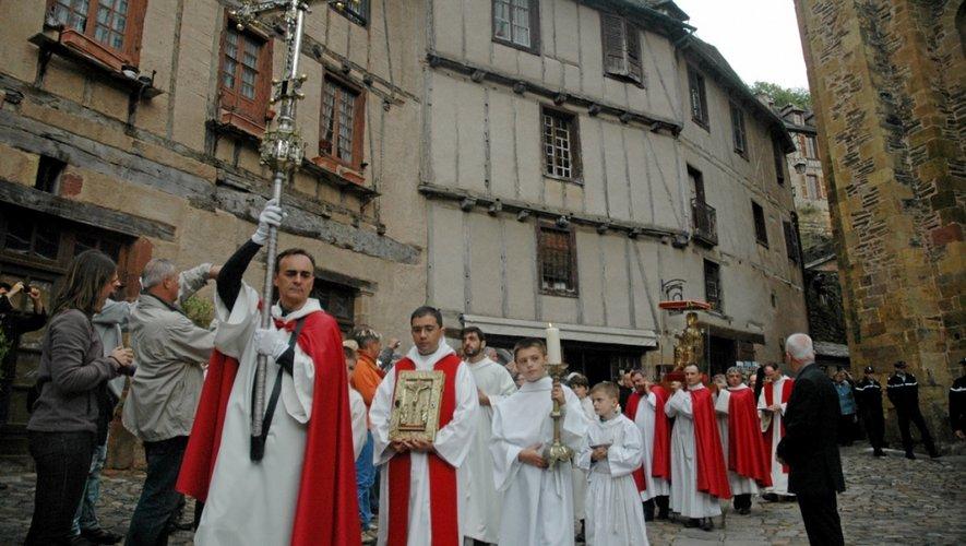 L'unique sortie annuelle du Trésor, une fête religieuse et populaire.