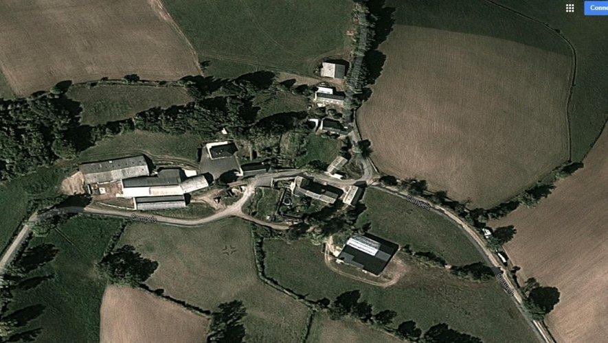Le drame s'est produit dans le hameau de Campels, commune de Ségur.