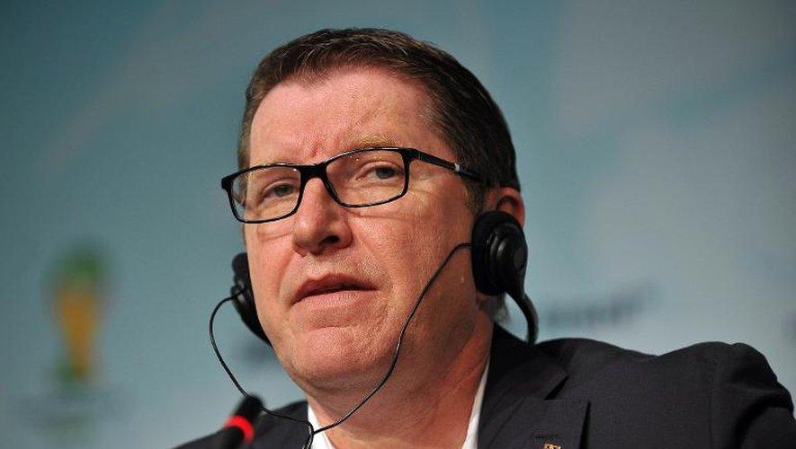 Le directeur du marketing de la Fifa Thierry Weil à Sao Paulo au Brésil, le 19 juillet 2013