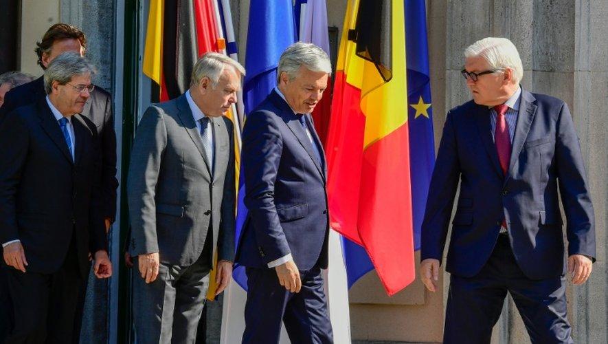 Brexit: les pays fondateurs de l'UE veulent acter la sortie de Londres