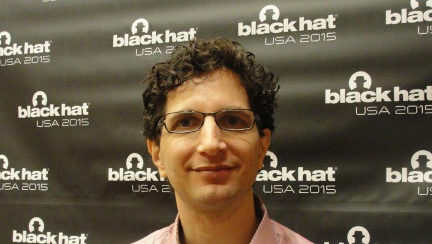 Jeff Moss, fondateur de la conférence Black Hat sur la sécurité, le 5 août 2015 à Las Vegas