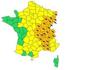 Aveyron : Météo France lève l'alerte